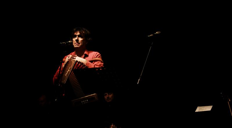 Il maestro Ambrogio Sparagna