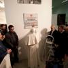 La Sala Mensa accoglie Benedetto XVI  per la posa della prima pietra