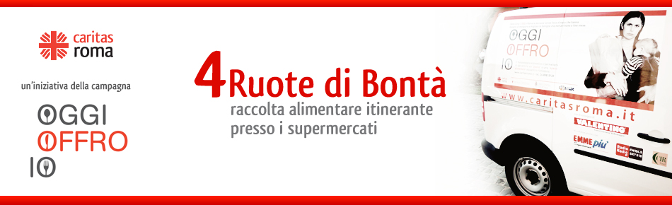"""Banner """"4 Ruote di Bontà"""""""