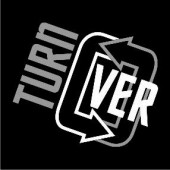 logo turn over