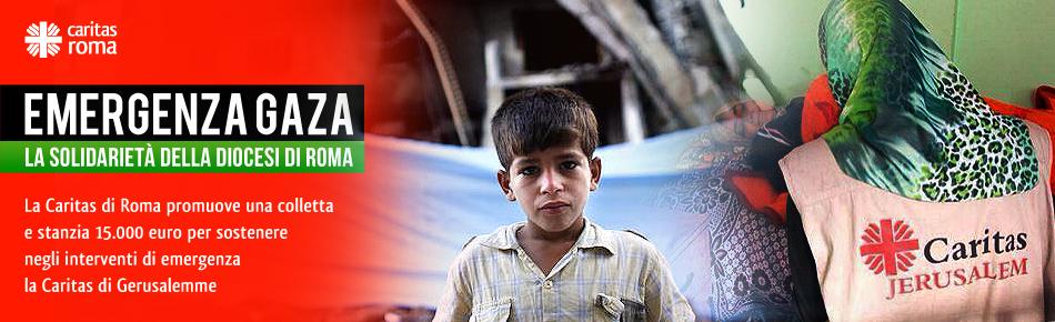 Emergenza Gaza: la solidarietà della Diocesi di Roma