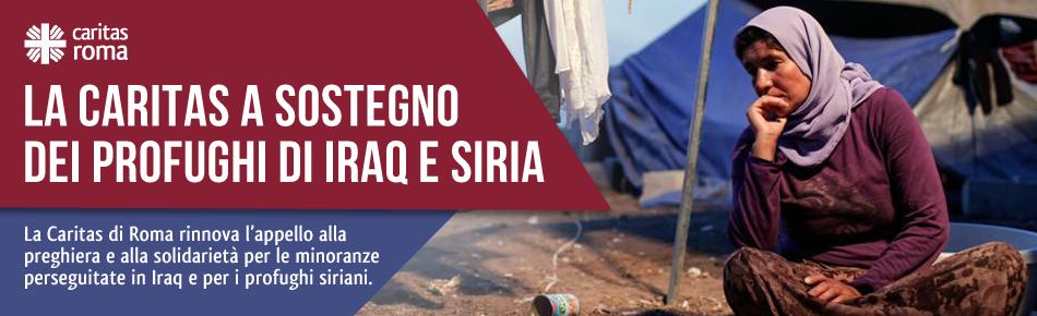La Caritas a sostegno dei profughi di Iraq e Siria