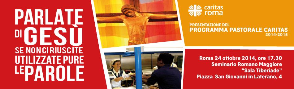 Presentazione programma pastorale 2014-2015