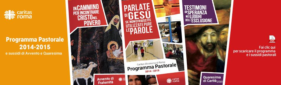 Programma pastorale 2014-2015