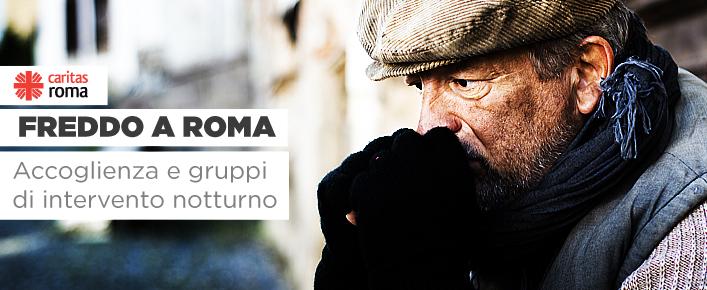Freddo a Roma, accoglienza e gruppi di intervento notturno