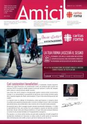 Il numero di Amici Caritas che presenta la campagna 5x1000