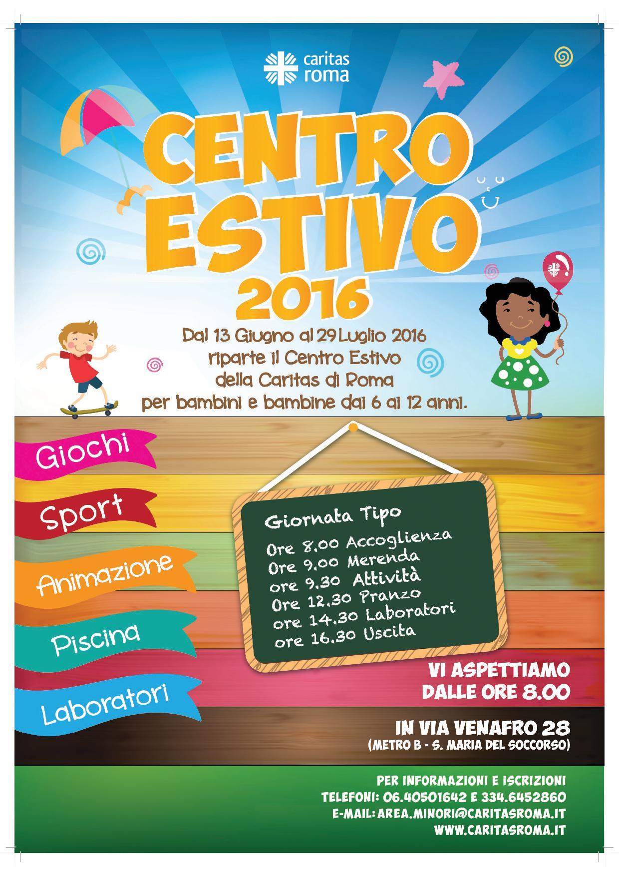 Centro_Estivo_Venafro_locandina2016
