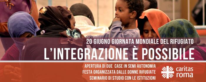 Giornata del Rifugiato: l'integrazione è possibile