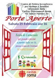 locandina carnevale 25 febbraio