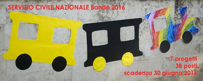 Servizio Civile Nazionale - Bando 2016