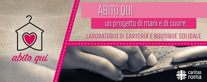ABITO QUI, un progetto di mani e di cuore