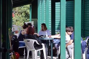 I giovani a Villa Glori