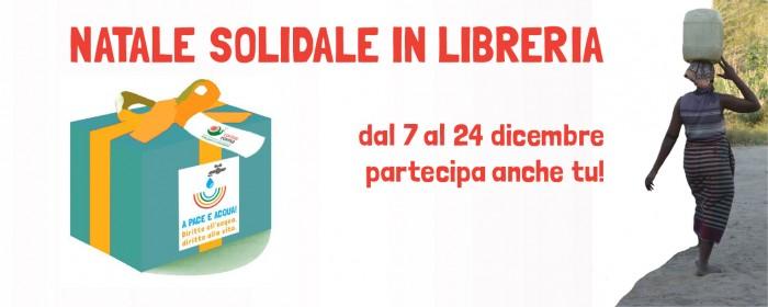 Dal 7 dicembre il «Natale Solidale in Libreria»