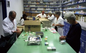 armadio farmaceutico