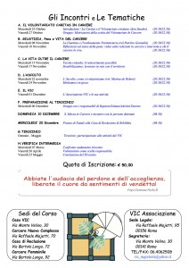Programma Corso Aspiranti 2017-2018