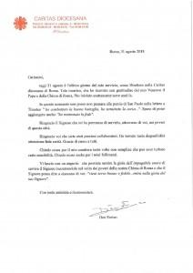 Lettera don Enrico