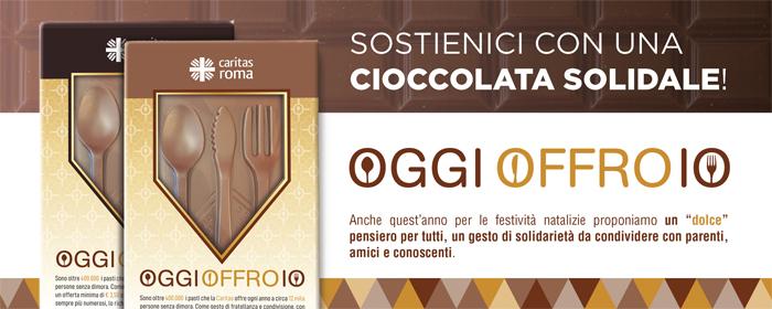 OGGI OFFRO IO - Cioccolate Solidali