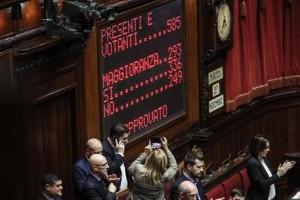Dl sicurezza: Camera conferma fiducia a governo,336 sì