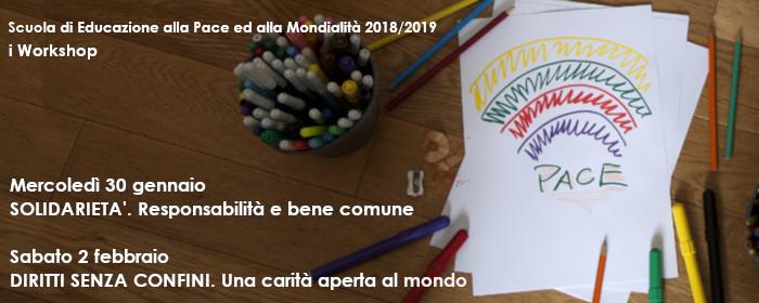 I Workshop - Solidarietà. Diritti senza confini