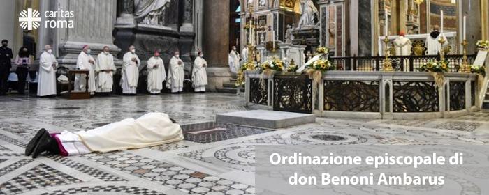 Ordinazione episcopale di don Benoni Ambarus